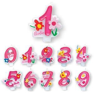 Barbie. Candelina Numero 8