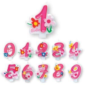 Barbie. Candelina Numero 9