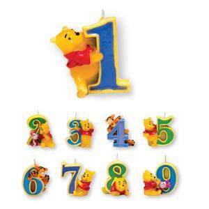 Winnie The Pooh. Candelina Numero 4