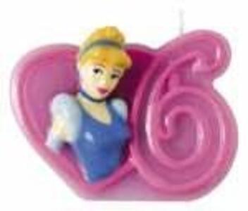 Principesse Disney. Candelina Numero 6
