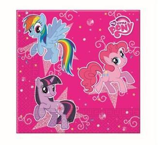 20 Tovaglioli Carta Doppio Velo My Little Pony. Sparkle.