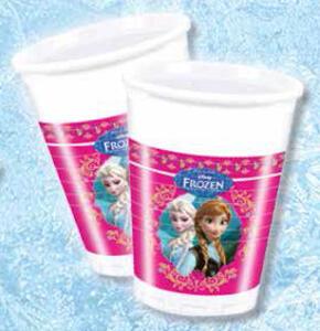 Frozen. Set 8 bicchieri di plastica