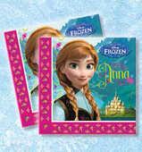 Idee regalo Frozen. Set 20 tovaglioli di carta Como Giochi