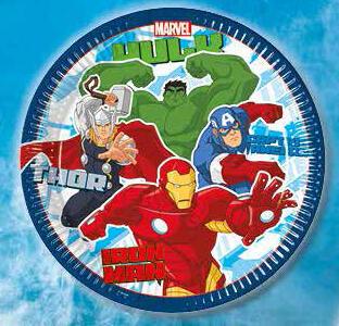 Avengers. Set 8 piatti - 2