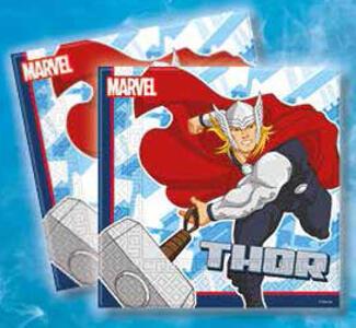 Avengers. Set 20 tovaglioli di carta