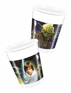 Star Wars. Heroes And Villans. 8 Bicchieri Di Plastica