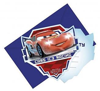Cars Ice. 6 Inviti Con Busta