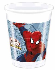 Ultimate Spider-Man. 8 Bicchieri 200 Ml