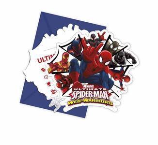 Ultimate Spider-Man. 6 Inviti con Busta - 2