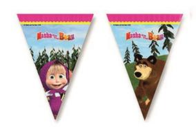 Bandierine masha e orso como giochi gadget e idee for Masha giocattolo