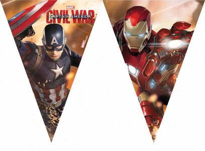 Captain America. Civil War. Bandierine