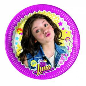 Soy Luna. 8 Piatti Carta 20 Cm - 2