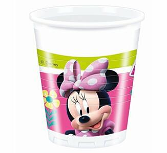 Minnie Happy Helpers. 8 Bicchieri 200Ml