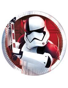 Star Wars The Last Jedi. 8 Piatti 18Cm