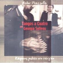 Tangos a Cuatro - CD Audio di Astor Piazzolla
