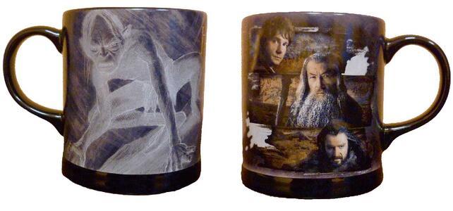 Tazza Lo Hobbit in Ceramica con Immagini In Rilievo. Bilbo, Gandalf e Thorin - 37