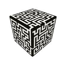 V-Cube Maze 3X3 Piatto