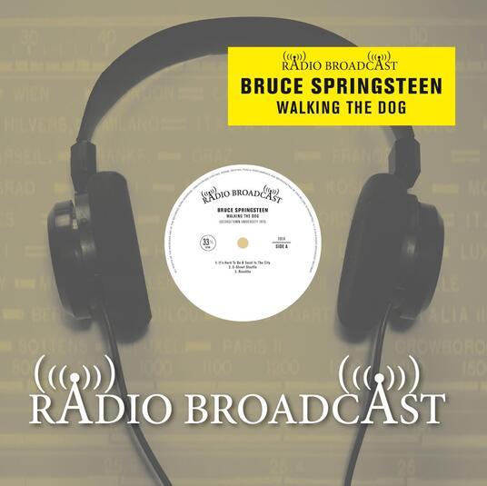 Walking the Dog. Georgetown University - Vinile LP di Bruce Springsteen