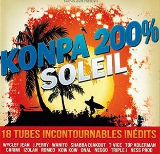 Konpa 200% Soleil - CD Audio