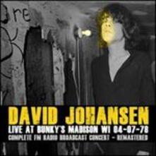 Live at Bunky's - CD Audio di David Johansen