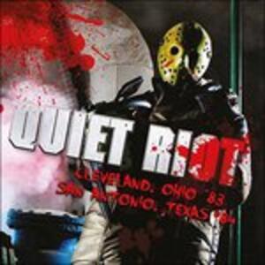 Cleveland Ohio '83-San.. - CD Audio di Quiet Riot