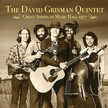Great American Music Hall 1977 - CD Audio di David Grisman