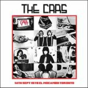 14th September 1978 Mocambo Toronto - CD Audio di Cars