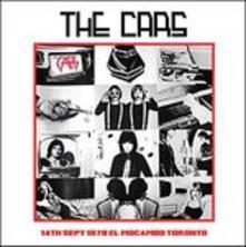 14th September 1978 Mocambo Toronto - CD Audio di Cars