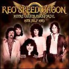 Metro Centre Rockford Il 15-07-83 - CD Audio di REO Speedwagon