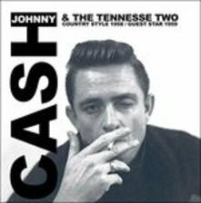 Country Style 1958 - Guest Star 1959 - Vinile LP di Johnny Cash,Tennessee Two