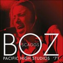 Pacific High Studios '71 - CD Audio di Boz Scaggs