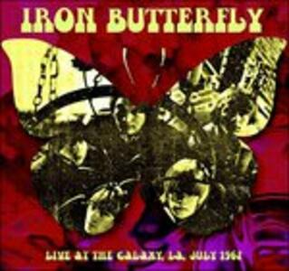 Live at the Galaxy, L.A. July 1967 - Vinile LP di Iron Butterfly