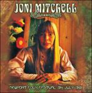 Newport Folk Festival 19 July 1969 - CD Audio di Joni Mitchell