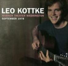 Warner Theater.. - CD Audio di Leo Kottke