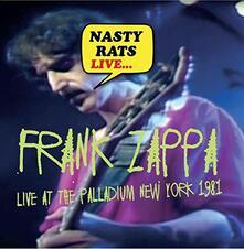 Nasty Rats Live - CD Audio di Frank Zappa