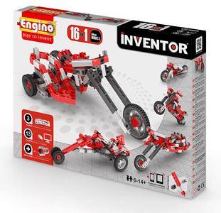 Costruzioni Engino Inventor 16 Modelli Moto Engino - 3