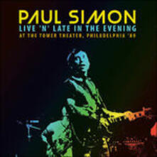 Live 'N' Late In The.. - CD Audio di Paul Simon