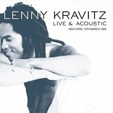Live & Acoustic New York, 14th March 1994 - CD Audio di Lenny Kravitz