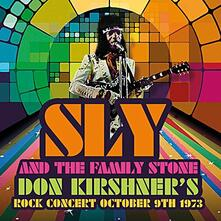 Don Kirshner's Rock Concert October 9th 1973 - CD Audio di Sly & the Family Stone