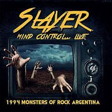 Mind Control... Live - CD Audio di Slayer