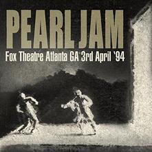 Live at the Fox Theatre Atlanta Georgia - CD Audio di Pearl Jam