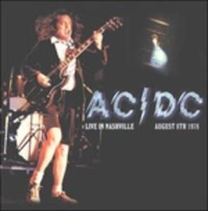Live in Nashville August 8th 1978 - Vinile LP di AC/DC