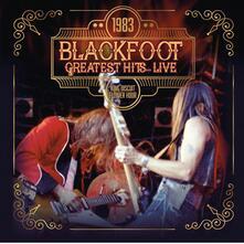 1983 Greatest Hits... Live - CD Audio di Blackfoot