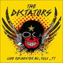 Live Rochester NY July 1977 - CD Audio di Dictators