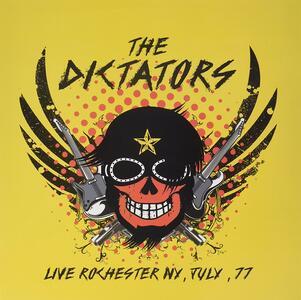 Live Rochester NY, July 77 - Vinile LP di Dictators