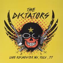 Live Rochester NY, July 77 (Remastered) - Vinile LP di Dictators
