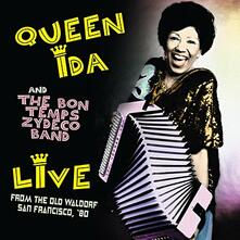 Live from the Old Waldorf, San Francisco 1980 - CD Audio di Bon Temps Zydeco Band,Queen Ida