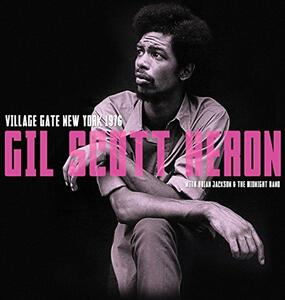 Village Gate New York 1976 - Vinile LP di Gil Scott-Heron