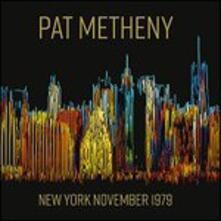 New York November 1979 - CD Audio di Pat Metheny