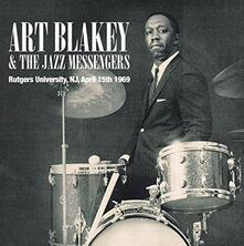 Rutgers University, N.J, April 15th 1969 - CD Audio di Art Blakey